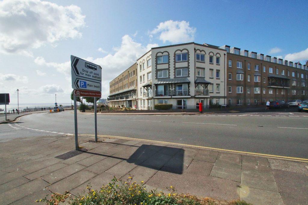 Flat , Homefleet House, Wellington Crescent, Ramsgate